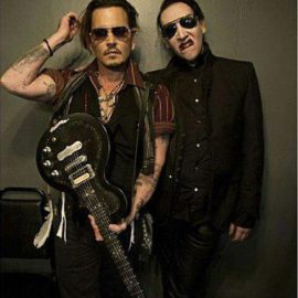 Johnny Depp en 'SAY10' el nuevo video de Marilyn Manson